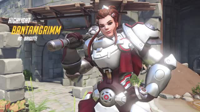 Watch and share Overwatch GIFs and Brigitte GIFs by OW on Gfycat