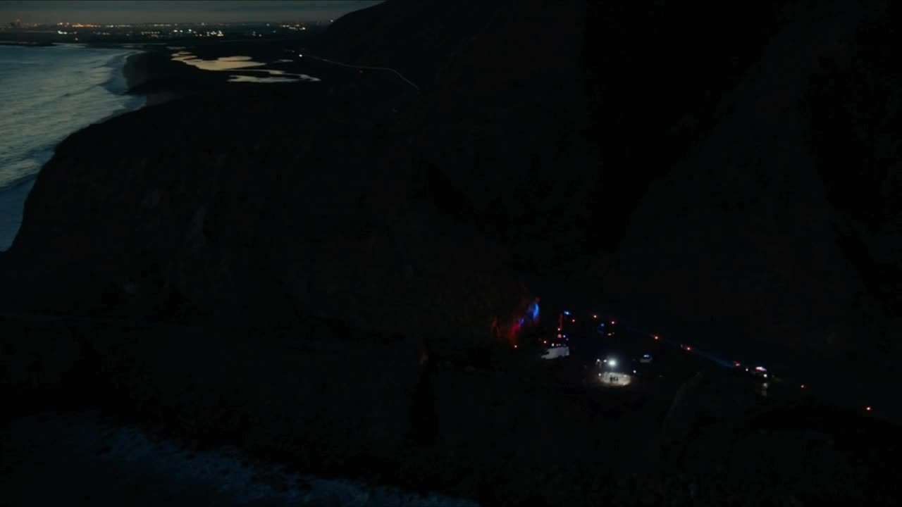 TrueDetective, truedetective, [Season 2] The crime scene in the darkness of the night (reddit) GIFs