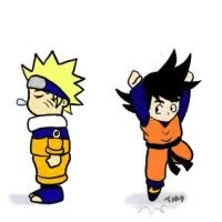 Watch and share Naruto Goku DBZ Chibi GIFs on Gfycat