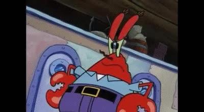 "Watch and share ""Plankton, Krabs, Plankton, KRABS... Spongebob"" GIFs on Gfycat"