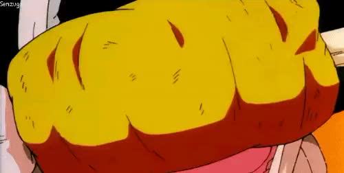 Watch I am the Senzu Gardener! GIF on Gfycat. Discover more anime, broly: the legendary super saiyan, dbz, dragon ball z, dragonball z, gif, goku, kakarot, king kai, nom, nom nom, senzugardener, son goku GIFs on Gfycat