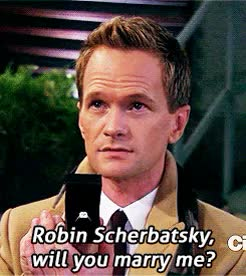 Watch and share Neil Patrick Harris GIFs and Robin Scherbatsky GIFs on Gfycat