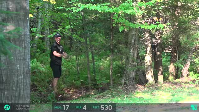 Watch 2017 GMC | Round 3 Cale Leiviska hole 17 putt GIF by Benn Wineka UWDG (@bennwineka) on Gfycat. Discover more Jomez Productions, Sports GIFs on Gfycat