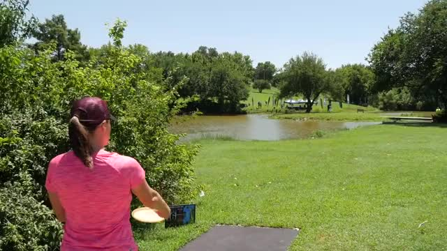 Watch 2016 Pro Worlds: Women's Final 9 (Allen, Pierce, Jenkins, Hokom) GIF on Gfycat. Discover more pdga, prodigy disc, professional disc golf association GIFs on Gfycat