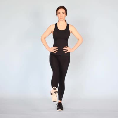 Watch and share 400x400 The Benefits Of Dynamic Stretching And How To Get Started Leg Pendulum GIFs by Healthline on Gfycat