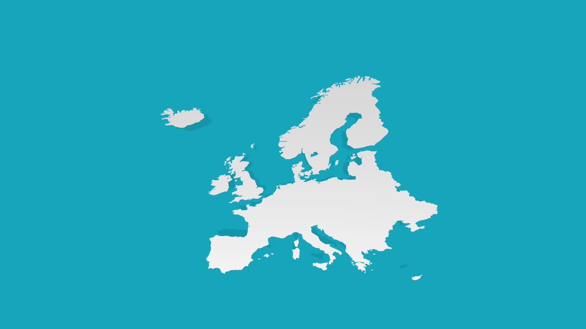 europe 3D GIFs
