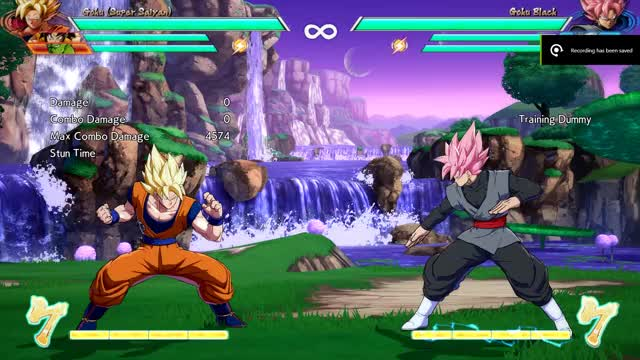 Watch and share DBFZ Goku 236S Combo GIFs on Gfycat