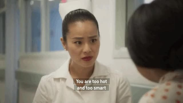 Watch and share Nora From Queens GIFs and Stephanie Hsu GIFs by screengifs on Gfycat