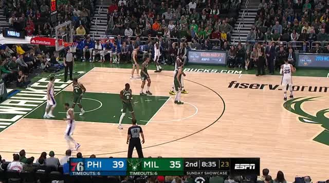 Watch dunk embiida GIF by @prejuce on Gfycat. Discover more Philadelphia 76ers, basketball GIFs on Gfycat