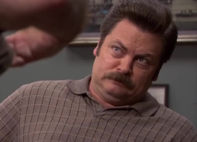 Watch and share Nick Offerman GIFs and Agree GIFs by Super GIF on Gfycat