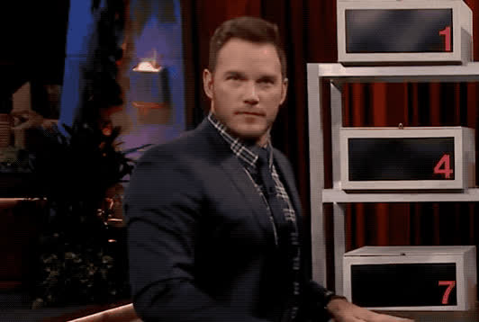 box, chris, eye, eyebrows, eyeroll, fallon, flirt, funny, hmm, jimmy, lies, lol, move, of, pratt, roll, show, think, thinking, tonight, Chris Pratt - Box of lies GIFs