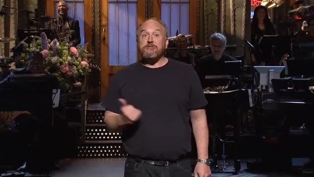 Watch Louis C.K. Monologue - SNL GIF on Gfycat. Discover more Rihanna, SNL, comedy, finale, funny, host, improv, laugh, louis, monologue, riri GIFs on Gfycat