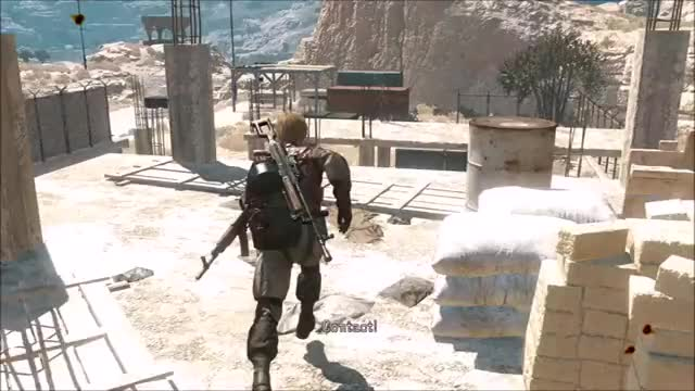 Watch and share Mgs V Fall GIFs by snakesenpai on Gfycat
