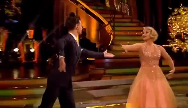 Watch and share Anastacia And Gorka Marquez Quickstep To 'My Kind Of Town' - Strictly 2016: Week 5 GIFs on Gfycat