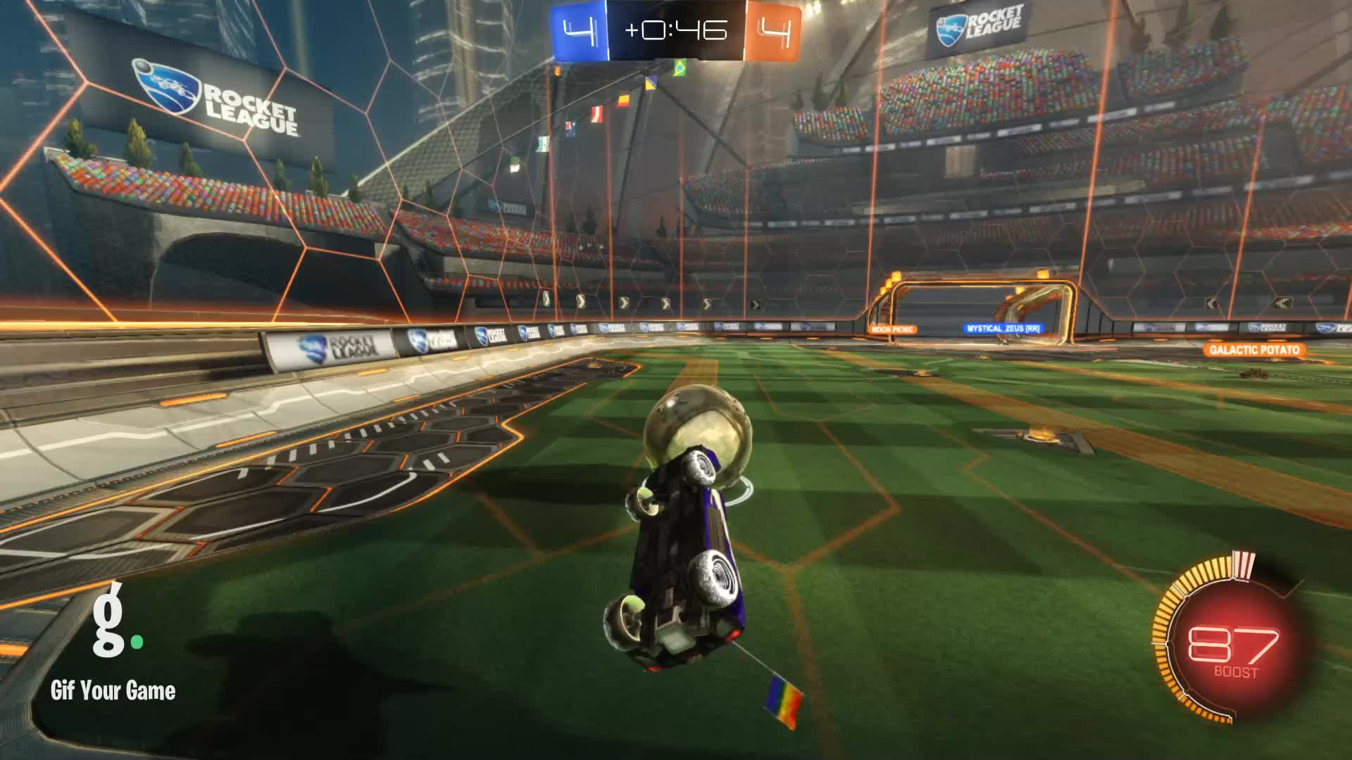 Gif Your Game, GifYourGame, I like beards :), Rocket League, RocketLeague, Goal 9: I like beards :) GIFs