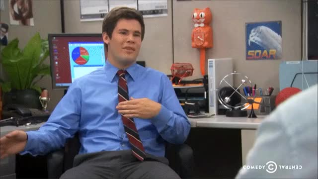 Watch and share Adam Devine GIFs and Wrong GIFs by reactionclub on Gfycat