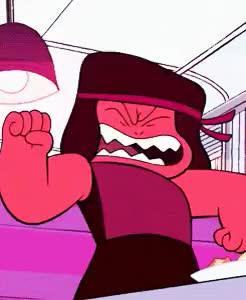 Watch I'm here. I'm yours. GIF on Gfycat. Discover more my graphics, ruby, she's so angry and precious ashdasfsaf, steven universe, su ruby, su spoilers GIFs on Gfycat