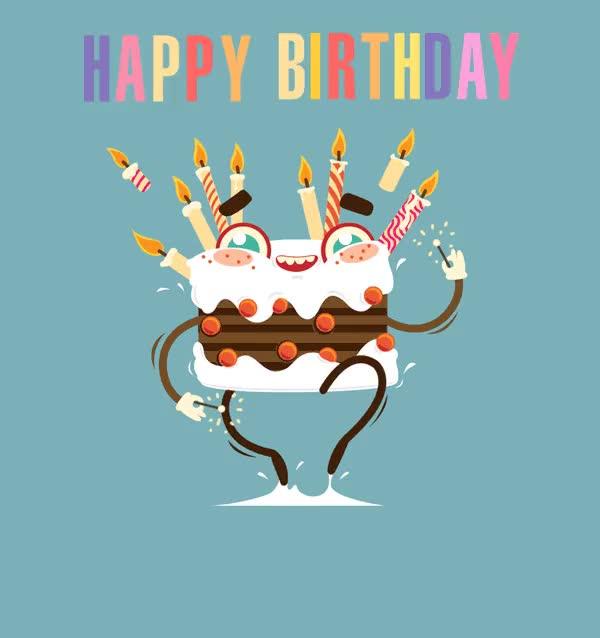 Watch and share Birthday Gif GIFs by John Petser on Gfycat