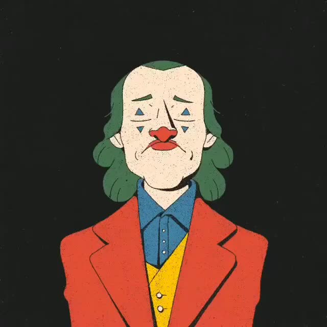 Watch and share Best Joker Laugh? 🤡 Artist: @marco.demasi Via: @moviethrill GIFs on Gfycat