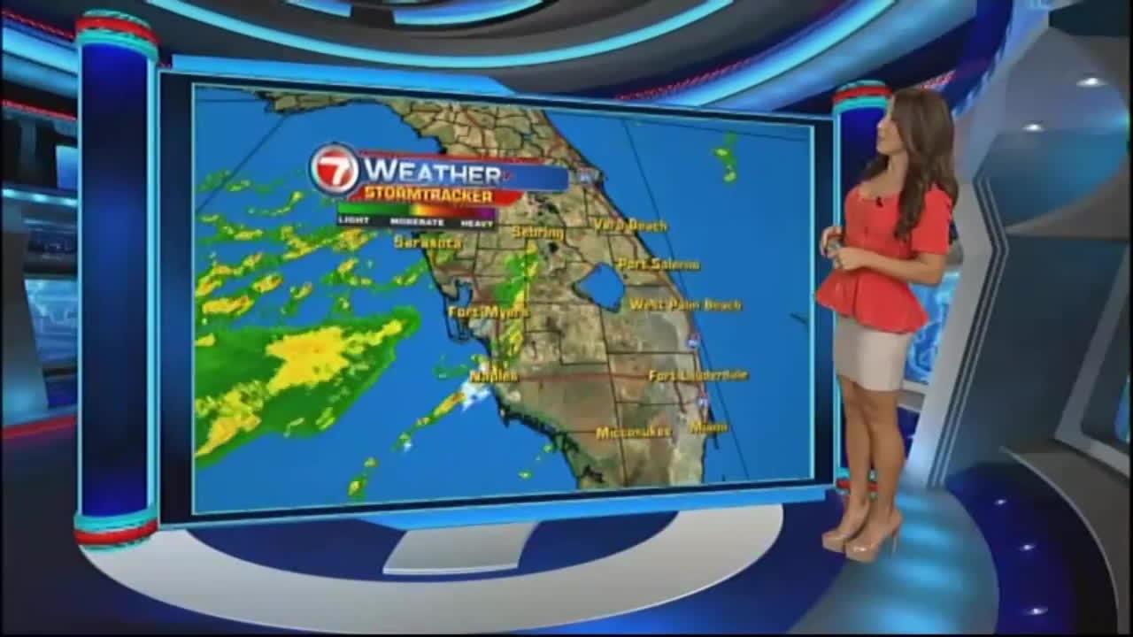 hot, hot weather girl, newsbabes, /r/NewsBabes Vivian Gonzalez GIFs