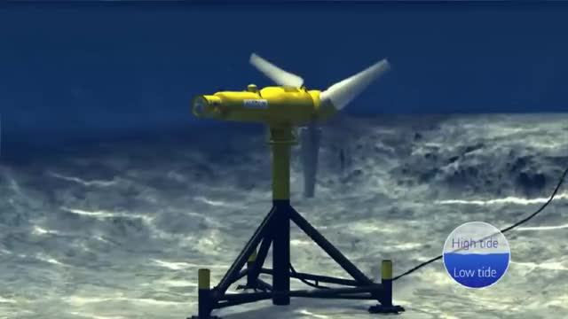 Watch and share Coming Soon: The World's Largest Tidal Power Plant GIFs on Gfycat