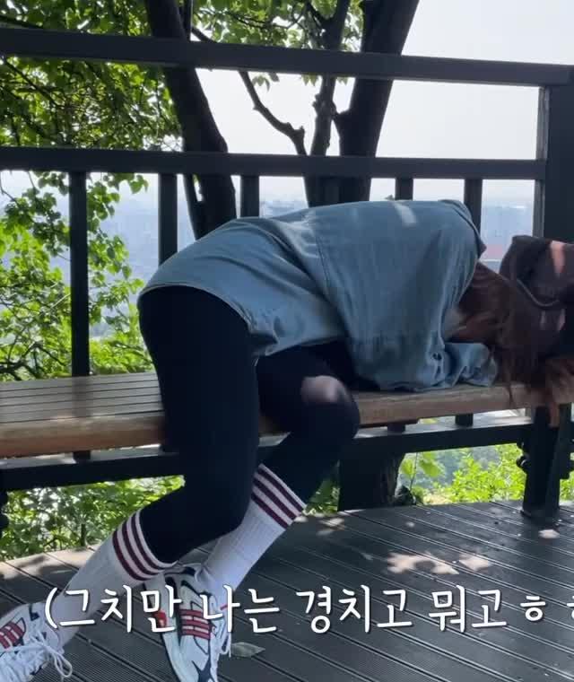 Watch and share 나미춘 서울N타워 오르기1 GIFs by koreaactor on Gfycat