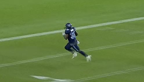 Watch and share Bc Place Stadium GIFs and Brandon Burks GIFs by Archley on Gfycat