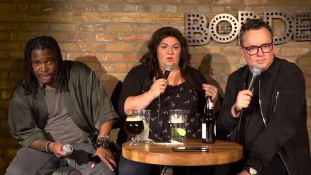 Watch and share MIKE WARD SOUS ÉCOUTE #185 – (Christine Morency Et Erich Preach) GIFs on Gfycat