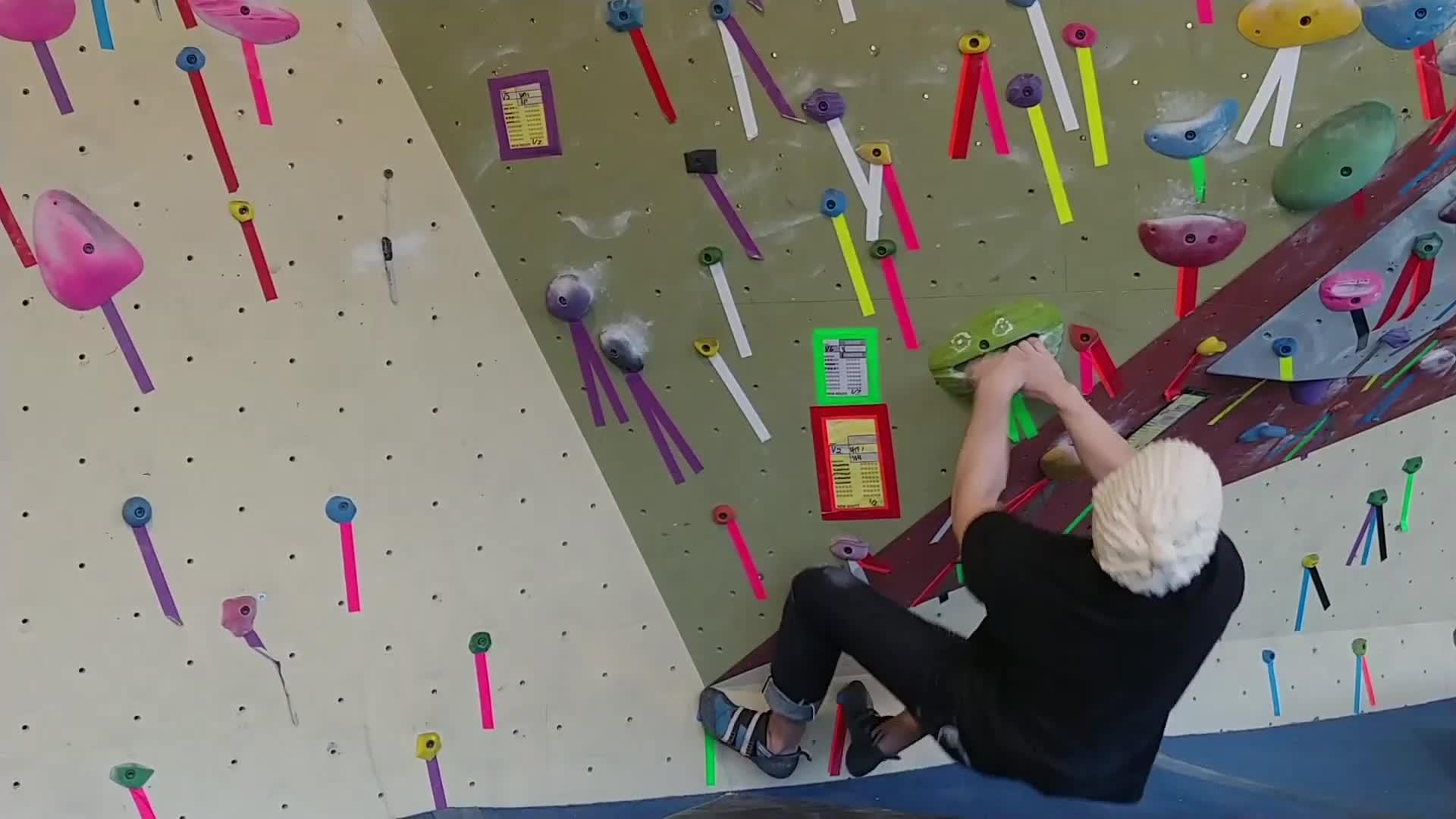 climbing, climbing gym, falling, rock climbing, Falling GIFs