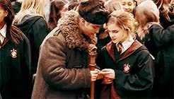 Watch and share Hermione Granger GIFs and Harry Potter GIFs on Gfycat