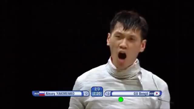 Watch and share Yakimenko V Gu Reaction And Replay GIFs on Gfycat