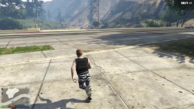 Watch Blind Side GIF by @thespacecaptain on Gfycat. Discover more grand theft auto 5, gtav, hit by a car GIFs on Gfycat