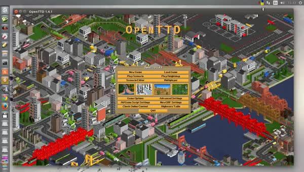 OpenTTD with 32 bit graphics (reddit) GIFs