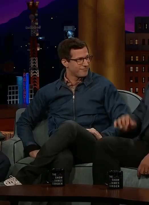 Watch and share Andy Samberg GIFs and Boom GIFs by jaxspider on Gfycat