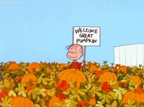 Watch and share The Great Pumpkin GIFs on Gfycat