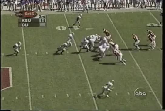 ell, k-state, #9 Kansas State Wildcats at #3 Oklahoma Sooners - 2001 - Football GIFs
