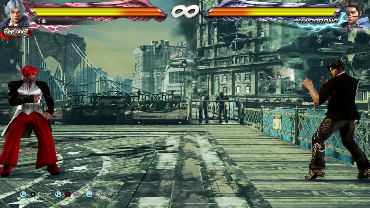 Tekken, KoF Iron Fist - Iori & Kyo GIFs
