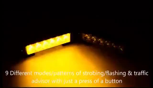 Watch and share Pair LED Amber Light Emergency Warning Strobe Flashing Yellow Bar Hazard Grill GIFs on Gfycat