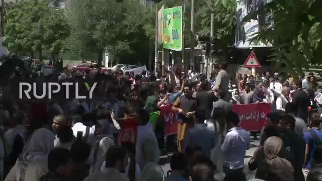 Afghanistan- 7 demonstrators reported killed as clashes erup GIFs
