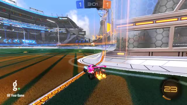 Watch Goal 3: Matt Damon GIF by Gif Your Game (@gifyourgame) on Gfycat. Discover more Gif Your Game, GifYourGame, Goal, Rocket League, RocketLeague, Xela GIFs on Gfycat