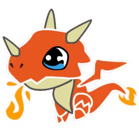 Watch and share Fifi Dragon! animated stickers on Gfycat