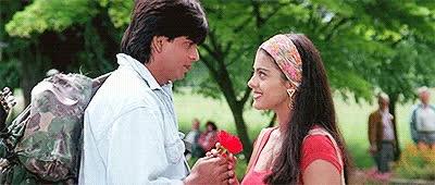 Watch and share Shah Rukh Khan And Kajol Devgn GIFs on Gfycat