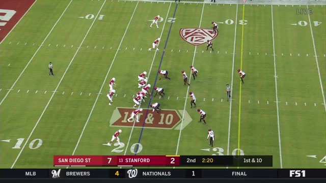 Watch Bryce Love (Stanford RB) vs. San Diego St. (2018) GIF on Gfycat. Discover more Caddy to the Lama, Film & Animation, Wondershare Filmora, football GIFs on Gfycat