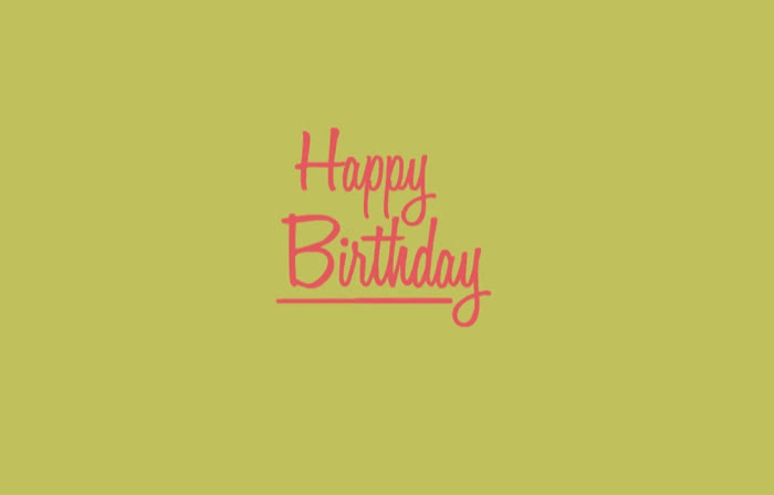 Birthday, Floral, HBD, Happy, Happy Birthday, Loop, Happy Birthday Flowers GIFs