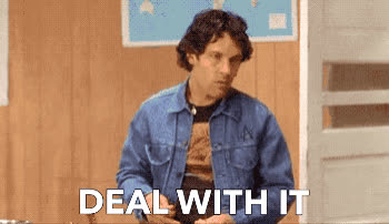 cool, deal, deal with it, dude, it, life, paul rudd, pro, sunglasses, thug, with, DEAL WITH IT GIFs