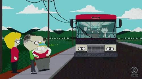 Bus Southpark GIF - Bus Southpark Cartman - Discover & Share GIFs GIFs