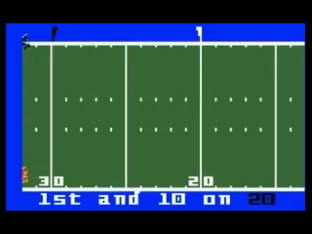 Watch NFL Football  (Intellivision) GIF on Gfycat. Discover more 16-bit, 16bit, 32-bit, 32bit, 64-bit, 64bit, 8-bit, 8bit, Intellivision, console, game, gameplay, games, oldschool, videogame GIFs on Gfycat