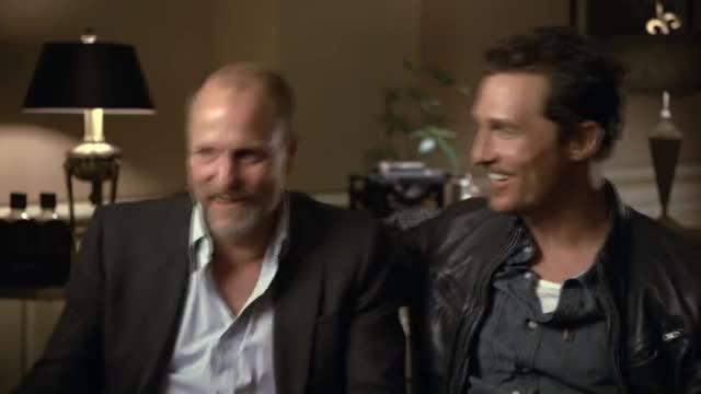 Watch True Detective Season 1: Woody Harrelson & Matthew McConaughey's Fight Scene (HBO): GIF on Gfycat. Discover more hbo, mini, true detective GIFs on Gfycat