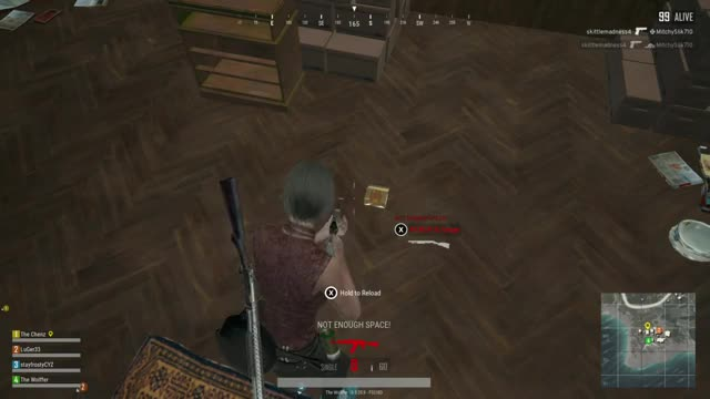 Watch Clip TheWolffer PLAYERUNKNOWNSBATTLEGROUNDS 2017-12-20 GIF on Gfycat. Discover more related GIFs on Gfycat