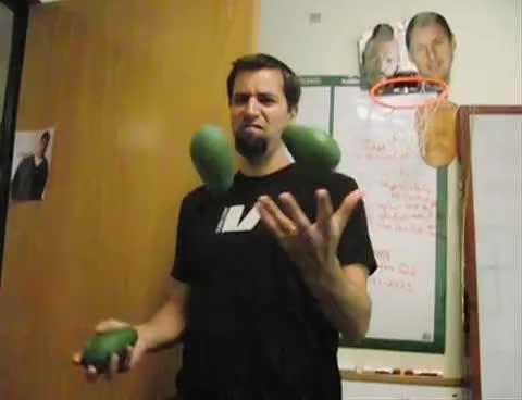 avocados, juggling, Juggling Avocados2 GIFs